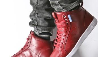 The Clae Men's Russel Sneaker in Merlot