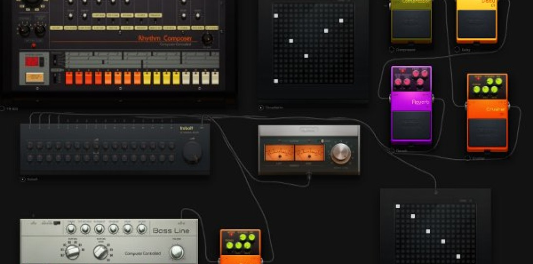 AudioTool Browser-Based Music Synthesizer