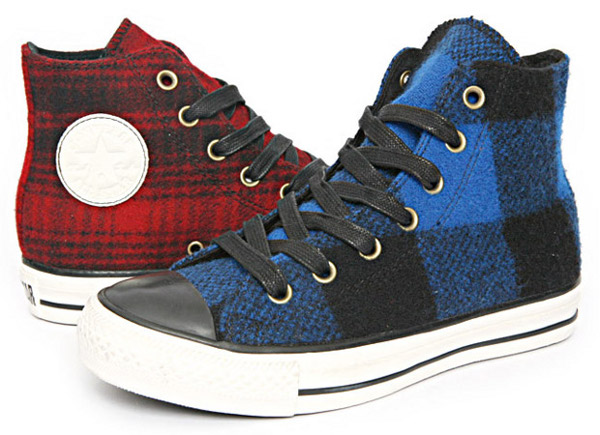 converse and woolrich chuck taylor all star collection 002 Converse x Woolrich Chuck Taylor All Stars