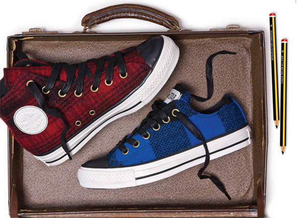 converse and woolrich chuck taylor all star collection 01 Converse x Woolrich Chuck Taylor All Stars