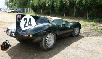Steve McQueen's Jaguar XKSS Le Mans Racer