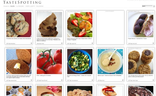 tastespotting The Divine Grid: 10 Creative Grid Style Website Designs