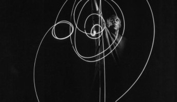 Light Painting by Pablo Picasso
