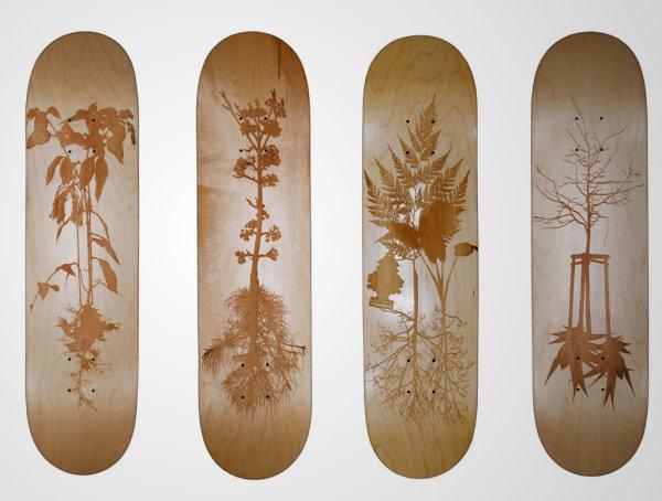 piotr woronkowicz laser etched skateboard art 1 Piotr Woronkowicz Laser Etched Skateboard Art