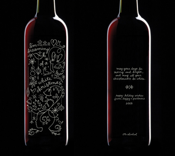 Wine Label Design duffy-and-partners-holliday-wine_1