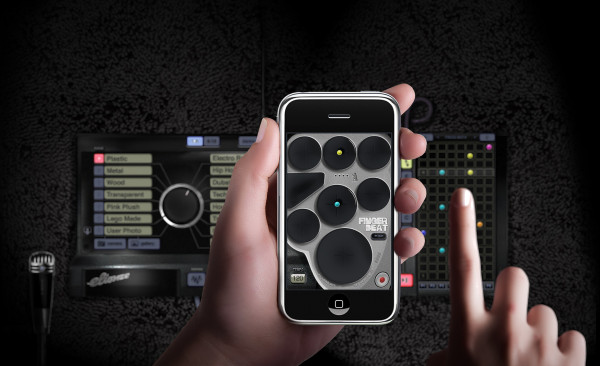 fingerbeat FingerBeat Music Production iPhone App