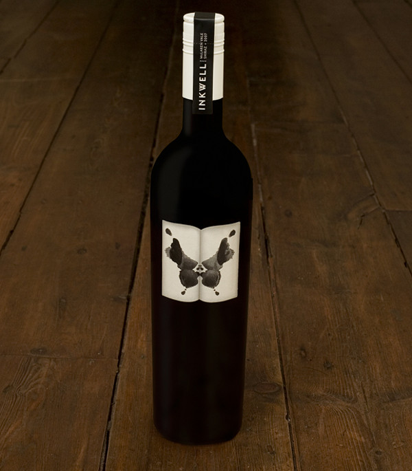 inkwell wine 1 30 Creative and Unusual Wine Label Designs
