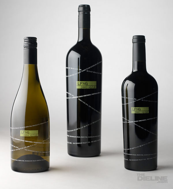 Wine Bottle Design laughing-stock-vineyards