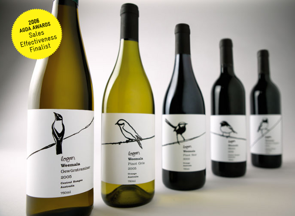 Wine Label Designs logan-weemala-wines_1