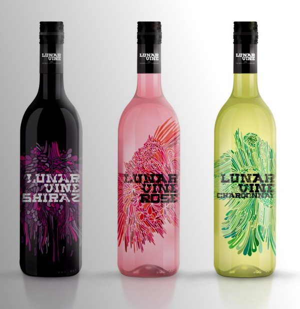 Wine Bottle Designs lunar-vine-wine
