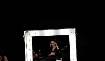 Olga Kurylenko in Campari Calendar 2010: Behind the Scenes
