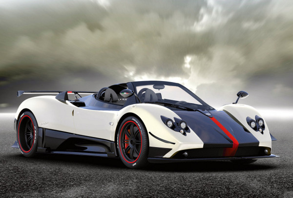 pagani zonda cinque roadster 01 Pagani Zonda Cinque Roadster Limited Edition
