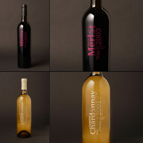 Wine Bottle Design saddlers-creek-naked-wines