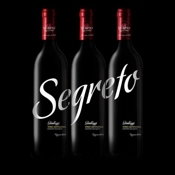 Wine Label Designs segreto-wine