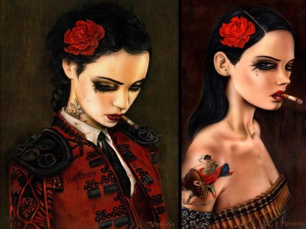 brian viveros girls of rebellion 6 The Dangerous Damsels of Brian Viveros