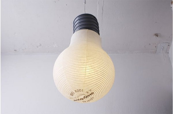 bulb lantern kyouei design 1 The Light Bulb Lantern by Kyouei Design