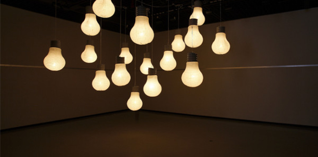 The Light Bulb Lantern by Kyouei Design