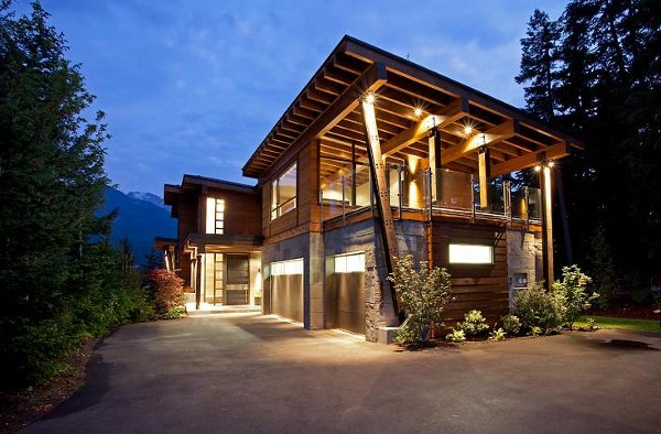 compass point home in whistler canada 1 Compass Point Home in Whistler Canada