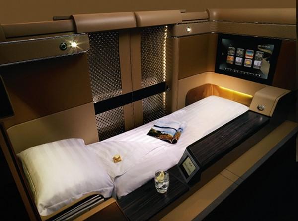 etihad first class bed Etihad First Class World Travel