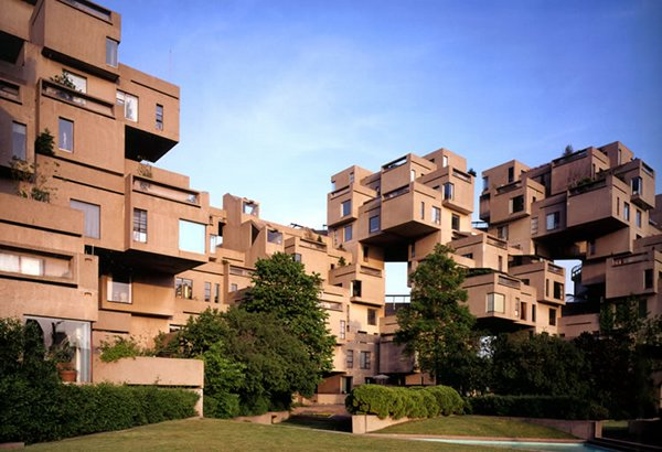 habitat 67 1 Habitat 67: Montreals Prefabricated City