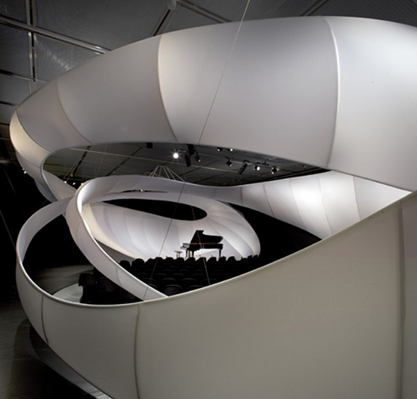 js bach chamber music hall by zaha hadid architects 1 Theater Architecture: 10 Modern Music Hall Masterpieces