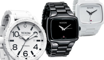 nixon ceramic elite collection 1 345x200 Nixon Fall 2009 Elite Ceramic Collection
