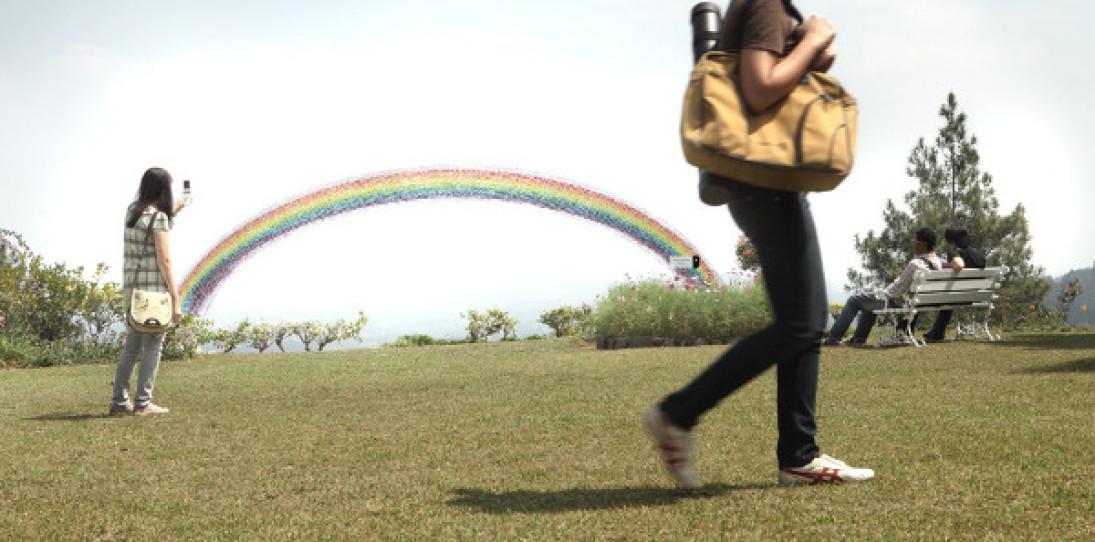 The Pantone Rainbow for Basheer Graphic Books