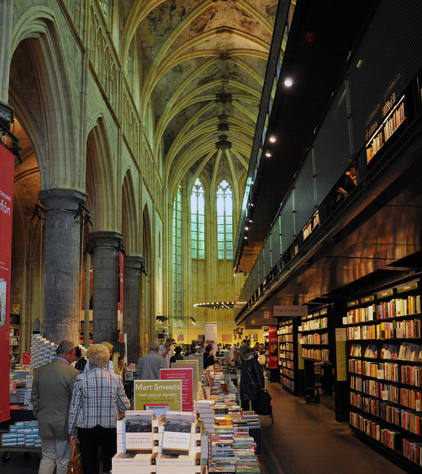selexyz bookstore maastricht 1 The Most Beautiful Bookstore in the World