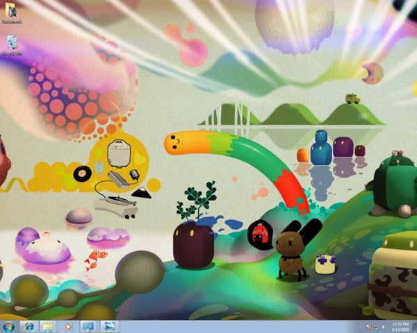 windows 7 screenshot 1 Link: Wired Reviews Windows 7
