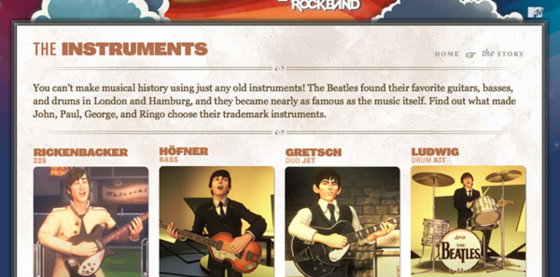 A Close Look at the Rickenbacker Guitar from Beatles: Rock Band