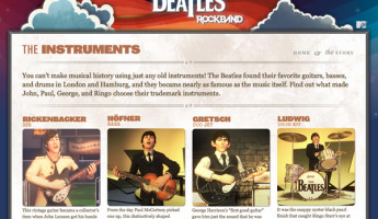 A Close Look at the Rickenbacker Guitar from Beatles: Rock Band
