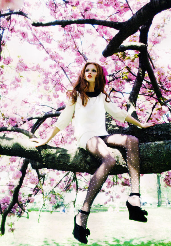 Cintia Dicker by Ellen von Unwerth for Lula Magazine 5 Cintia Dicker by Ellen von Unwerth in Lula Mag