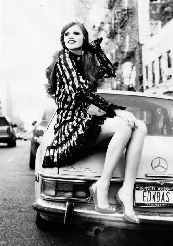 Cintia Dicker by Ellen von Unwerth for Lula Magazine 7 Cintia Dicker by Ellen von Unwerth in Lula Mag