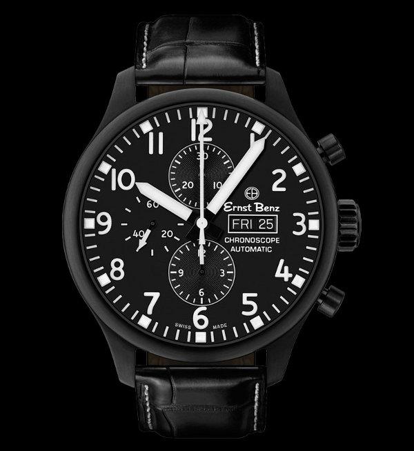 Ernst Benz Great Circle Chronoscope Watch 1 Ernst Benz Great Circle Chronograph Watch