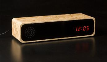 Knox clock intern edition 1 345x200 Furni Knox Chipboard Clock Radio
