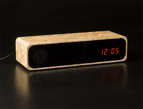 Furni Knox Chipboard Clock Radio