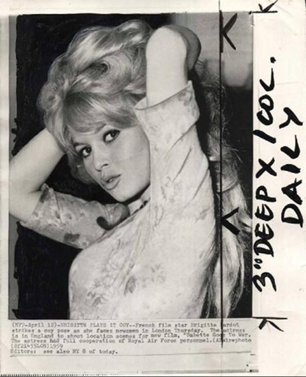 brigitte bardot vintage beauty 1 Vintage Beauty: Brigitte Bardot
