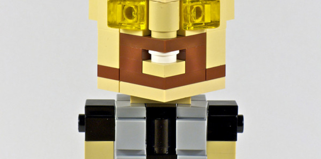 CubeDude Lego Icons: from Vader to Robocop