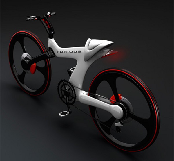 furious sports bike by nenad kostadinov 1 Furious Sports Bicycle by Nenad Kostadinov