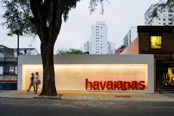havaiana store sao paolo brazil isay weinfeld 1 Havaianas Store Brazil by Isay Weinfeld