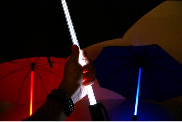 led umbrella 1 BladeRunner Umbrella Design with LEDs