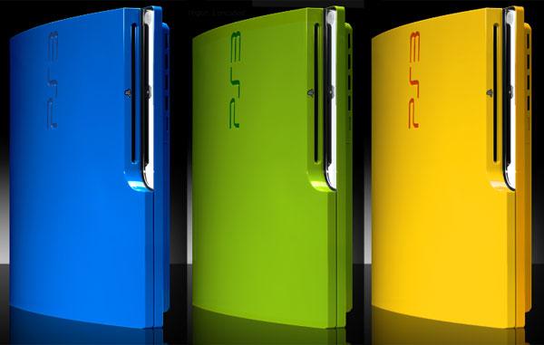 ps3 slim colorware 1 Colorware PS3 Slim