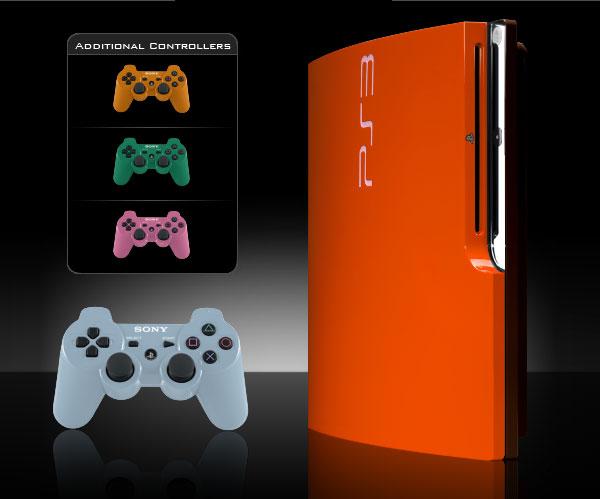 ps3 slim colorware 2 Colorware PS3 Slim