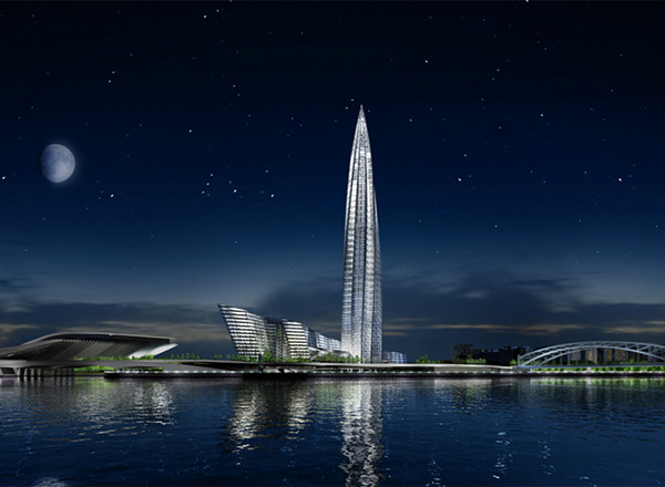 Okhta Tower Europes Tallest Building 1 Okhta Tower Will Be Europes Tallest Building