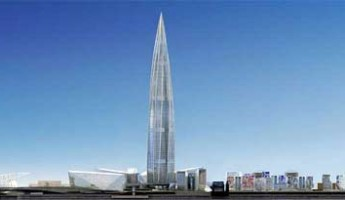Okhta Tower Will Be Europe's Tallest Building
