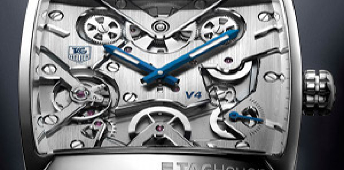 Tag Heuer Monaco V4 Watch