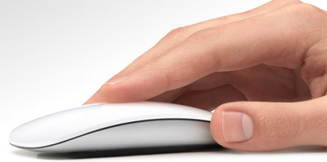 The Apple Magic Mouse