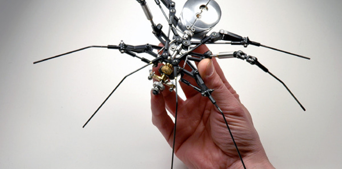 Steampunk Spiders by Christopher Conte