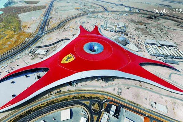 ferrari world abu dhabi 1 Ferrari World Abu Dhabi