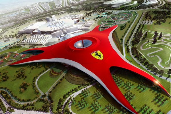 ferrari world abu dhabi 3 Ferrari World Abu Dhabi